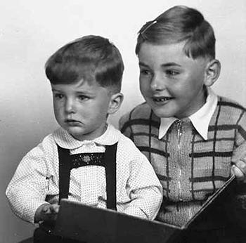 Manfred Hausin mit Bruder Ekkehard